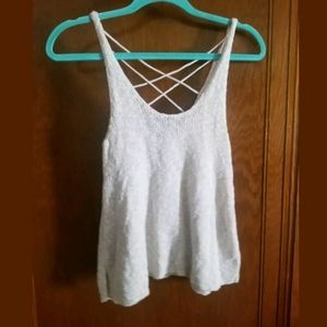 American Eagle sweater Tank Top Size Small